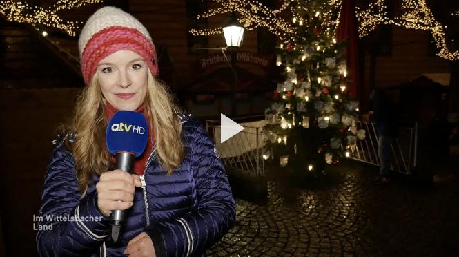 a.tv berichtet über die Waldweihnacht 2018
